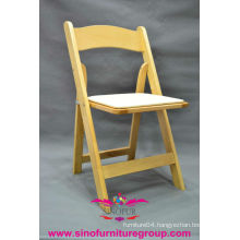 wholesale wooden padded folding chair, used wedding folding chairs