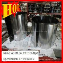Folha de titânio ASTM B265 Ti6al4V com melhor preço