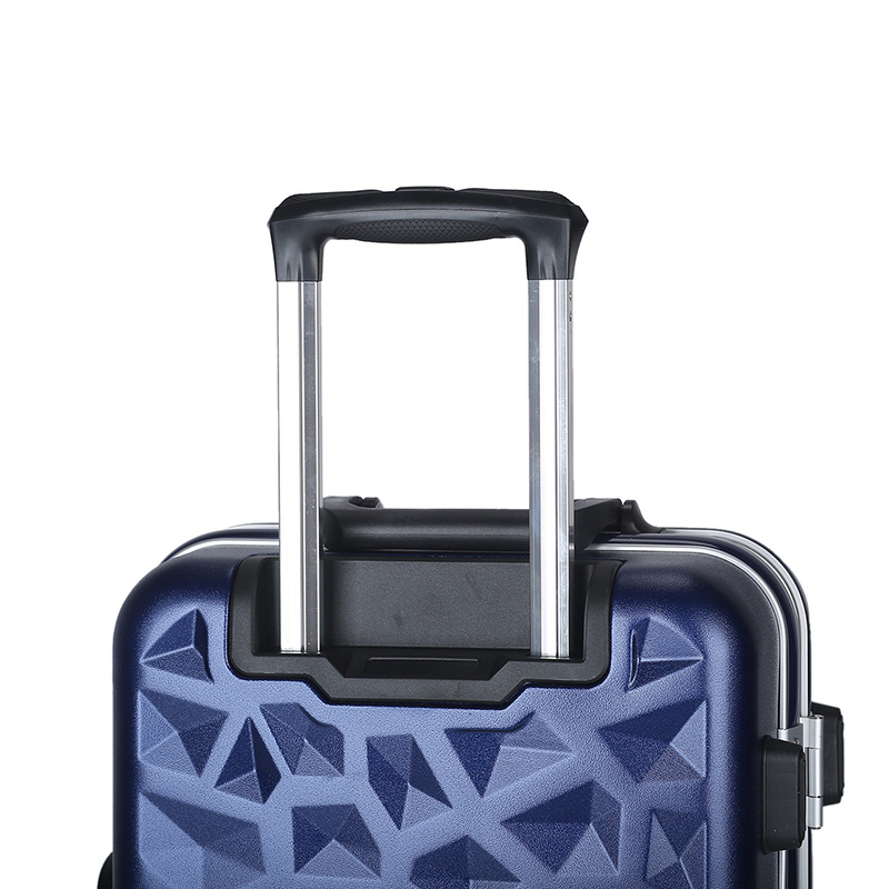 Diamond shape customized design ABS luggage11