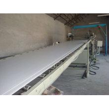Linha de produção da placa do celuka do PVC Máquina de linha plástica da extrusão da porta do plástico de madeira