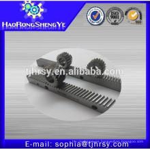 M2.5 engranaje helicoidal de acero con estante