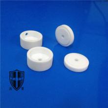 mycalex glass machinable ceramic custom made eyelet knob