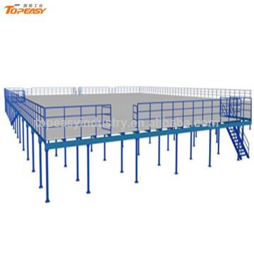 warehouse storage racks metal mezzanine platform