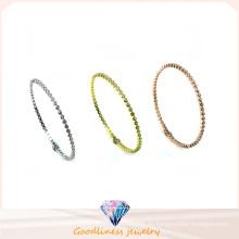 Großhandels-einfaches u. Art und Weise 925 silbernes Armband (G41280)