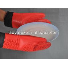 Микроволновая печь перчатки