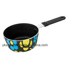 Mini Non-Stick Silk Screen Printing Sauce Pot Cookware