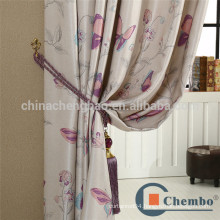 American style printed silk fabric for projector curtain