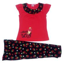 Summer Baby Girl Children′s Suit in Kids Clothes