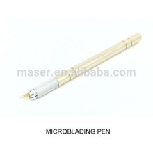 3D Nadeln Microblade Griff / manuelle Microblading Stift / hotsale permanente Make-up manuelle Stift