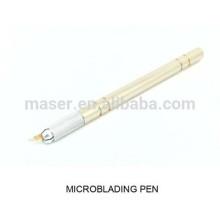 3D agulhas microblade alça / manual microblading caneta / hotsale permanente maquiagem manual caneta