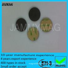 3m glue adhesive ferrite magnet