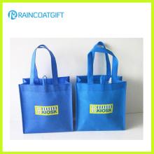 Benutzerdefinierte Logo gedruckt wiederverwendbare nicht gewebte Tasche für Promotion