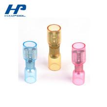 Connecteur à sertir de fil de terminal de bague thermo-rétractable isolé par nylon
