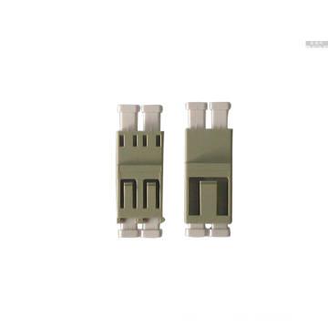 LC / Upc-LC / Upc Adaptador de Fibra Óptica Multi-Modo Duplex