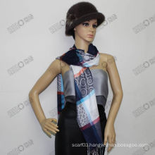 viscose long shawl for young lady HTC395-4