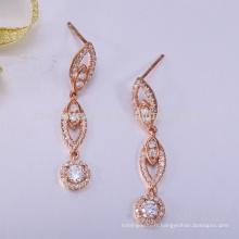 nouveau design boucle d'oreille de bijoux en argent sterling 925
