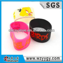 Pulsera de silicona niños distintivos para publicidad