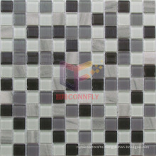 4mm Glass with Stone Mosaics (CS238)