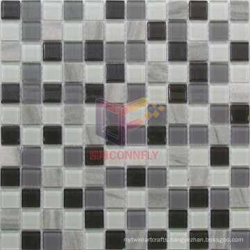 4mm Glass with Stone Mosaics (CS238)