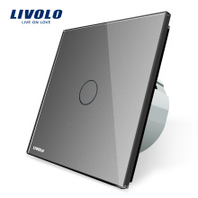 Livolo EU Standard Crystal Electric Touch Wall Home Light Switch VL-C701