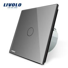 Livolo Стандарт ЕС Кристалл Электрический Сенсорный Настенный Выключатель Света Дома VL-C701