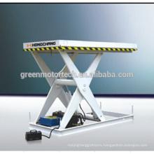 High qualitymini scissor lift table/hydraulic motorcycle lift table/plywood hydraulic lift table