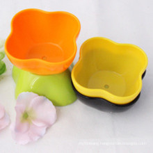 Colorful Plastic Flower Pot for Home and Garden Decoration