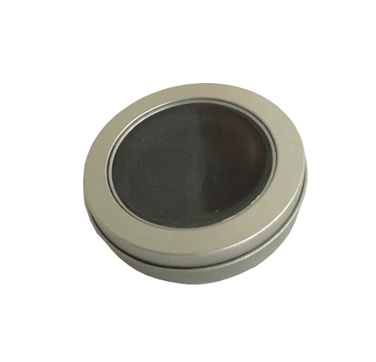 Round Spinner tin box