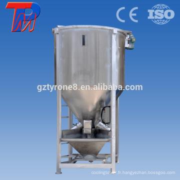 Machine de mélangeur à granulés en granulés en plastique industriel à haute qualité en acier inoxydable de haute qualité
