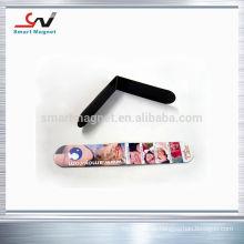 Kundenspezifische Kühlschrankmagneten, die mit Papier oder PVC bedeckt sind