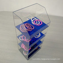 Acrylic Display Case for Jewelry with 4 Layers