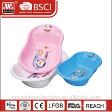 Heißer Verkauf & gute Qualität Kunststoff Baby-Tub(24L)/Kunststoff-Wanne für baby