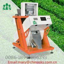 Máquina de classificador de cor de chá de imagem inteligente com novo software atualizado