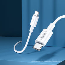 Remax Join Us RC-175C New Arrivals 3.0 100W Flash charger Type-C to Type-C fast cable data cable usb fast charging