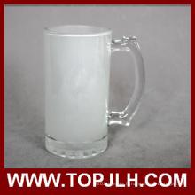 EXW prix vide 16oz dépoli verre chope à bière