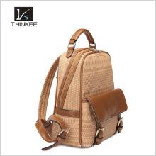 Европейская школа рюкзак/пользовательский школы рюкзак/девушки кожаный рюкзак сумки