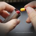 Boîte à pilules de stockage en titane non toxique Conteneurs à capsules EDC