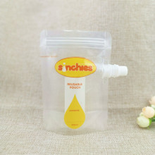 Индивидуальный пакет для сока и пакет для пищевых продуктов на молнии