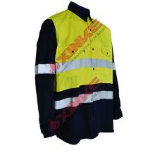 Hot sale aramid camisa à prova de fogo Hot sale aramid camisa à prova de fogo 1. parâmetros técnicos Fabric de camisa à prova de fogo de aramida: