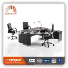 MT-25 Executive PU Tabelle Edelstahlrahmen MDF Bürotisch