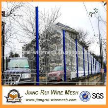 Китай производство пластиковых покрытием 3D изгиб забор / сад складной забор