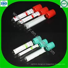 Tubo de recogida de sangre estéril