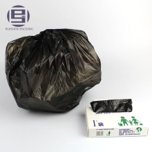 Cheap eco-friendly jumbo black garbage bags