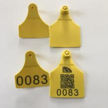 cow ear tag with laser printing cattle tag