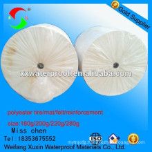 nonwoven polyester fabric reinforced for sbs app waterproof membrane