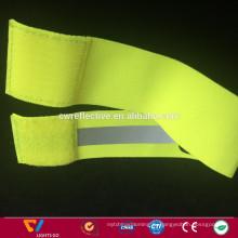 светоотражающие эластичные запуск повязки с высокой видимой рефлекторной ленты