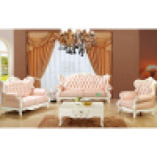 Home Sofa with Wood Sofa Frame and Side Table (992A)