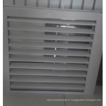 Fenêtre à vantail à fond fixe en aluminium résistant à l'eau pour toilette