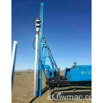 Driver Crawler Drill Rig Solar Pile