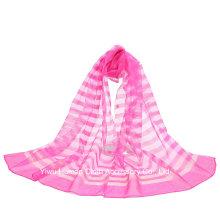 2016 Cachecol de seda pura de design novo para mulheres envolva xale